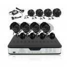 ZMODO 8 CH Security Surveillance DVR Outdoor Security Camera System