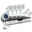 16 Channel DVR & 8 CMOS Security Camera System and No Hard Drive