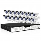 16CH DVR Security System & 16 Sony CCD 420TVL Outdoor Bullet Cameras without Hard Drive