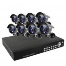 8CH 1TB Hard Drive Security DVR Sony CCD Outdoor CCTV Surveillance Camera System