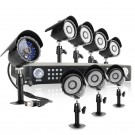 Advanced CCTV 16CH DVR + 8 Outdoor Night Vision Security Camera System with 480TVL & 1TB HD