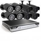 Zmodo 8CH 960H CCTV Video Surveillance System & 8 600TVL IR Outdoor Cameras