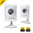 2-Pack ZMODO 720P HD Wireless IP Camera - Free 16GB SD Card for Each Camera