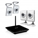 4 CH 720P HD Digital Wireless Security System