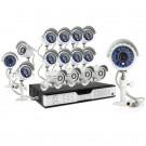 Zmodo 16CH Business Security System 1TB HDD & 16 600TVL IR Cameras