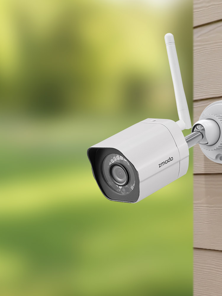Zmodo 1080p Outdoor Wifi Security Camera With Night Vision