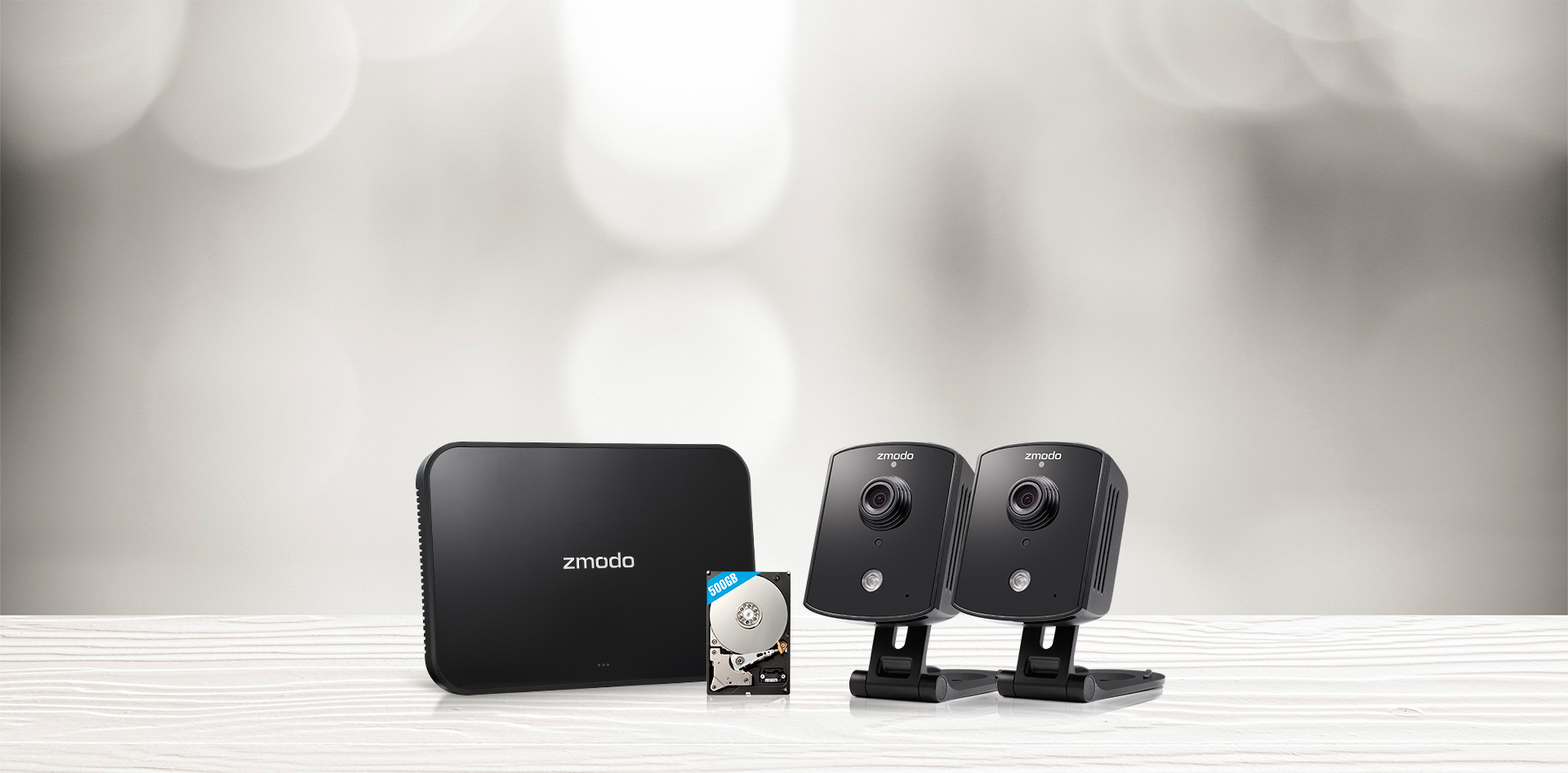Zmodo Replay Indoor Cameras with 500GB Hard Drive