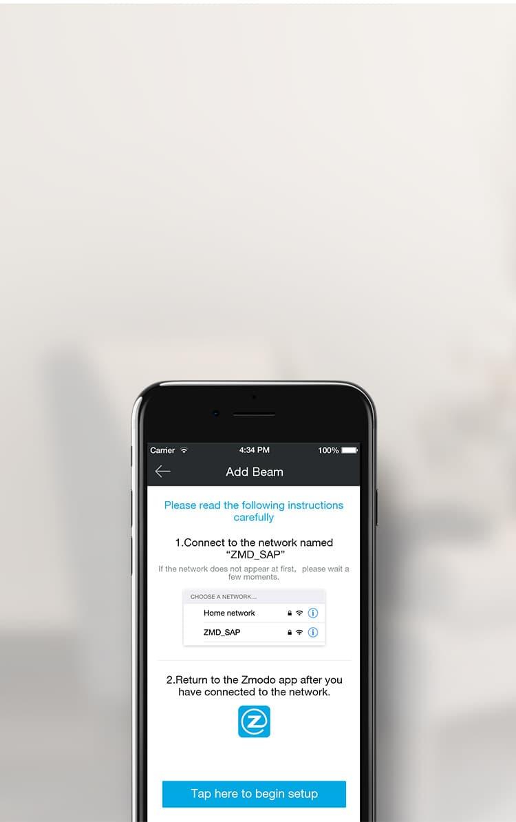 Zmodo Beam - WiFi Range Extender & Smart Home Hub