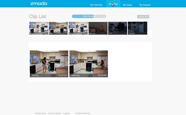 Zmodo - 8 Channel 720p Wireless Outdoor Security Camera