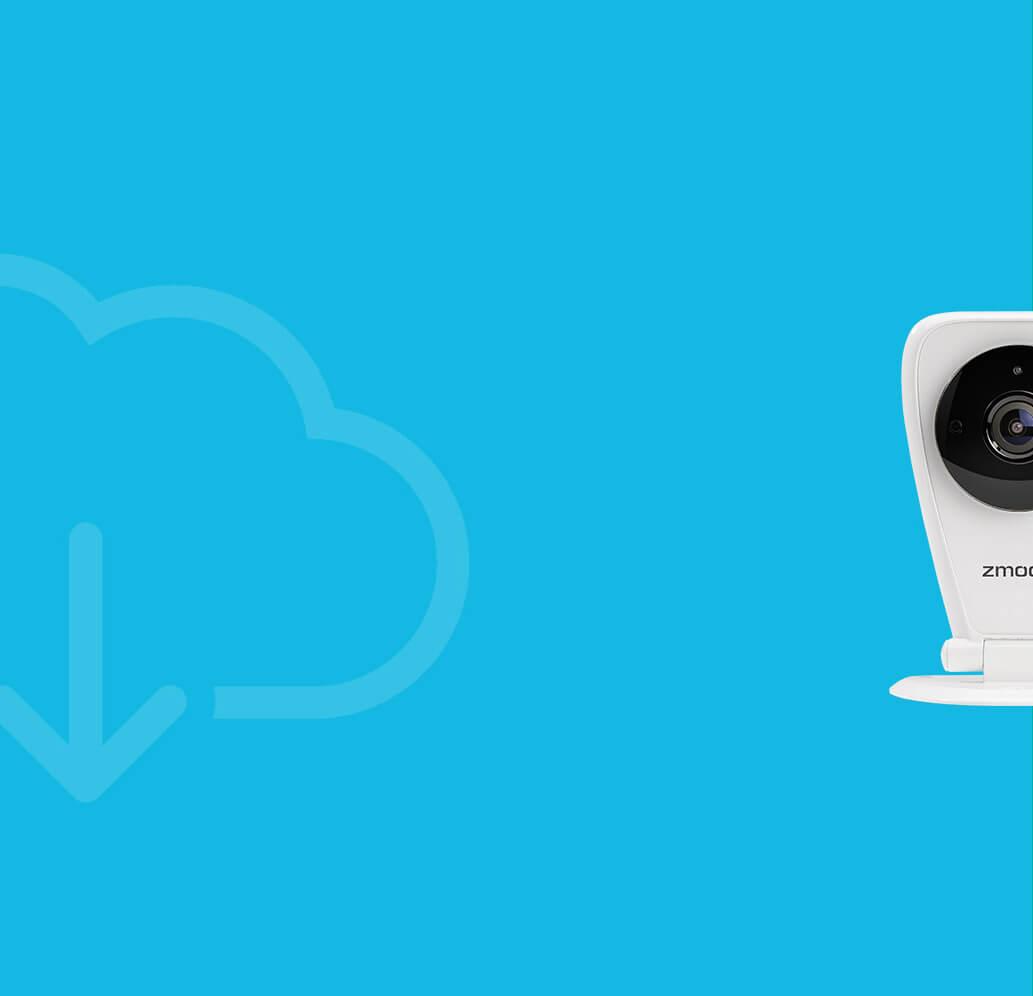 Zmodo EZCam - 720p WiFi Cloud Cam with 2-Way Audio & Motion Detection