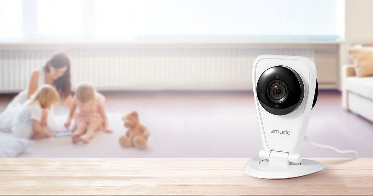 Zmodo EZCam - 720p WiFi Cloud Cam with 2-Way Audio & Motion