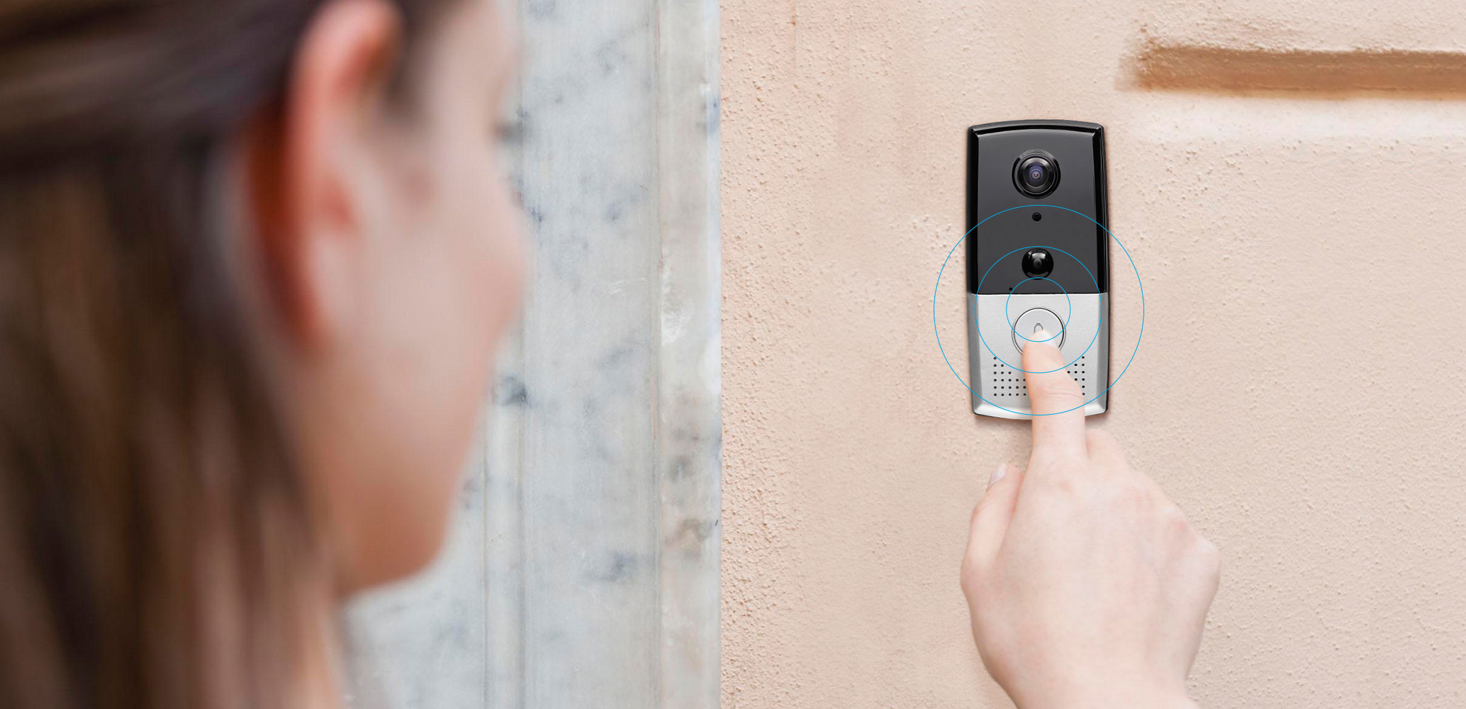 Zmodo Greet Hd Smart Wifi Video Doorbell For Home Security Wiring Up How It Works