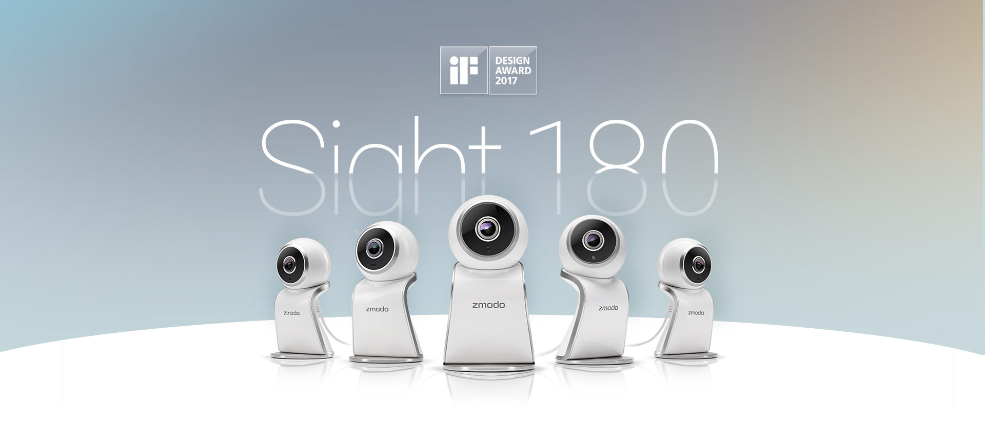 Zmodo Sight 180 - 180° Viewing Wireless Camera for Home Security