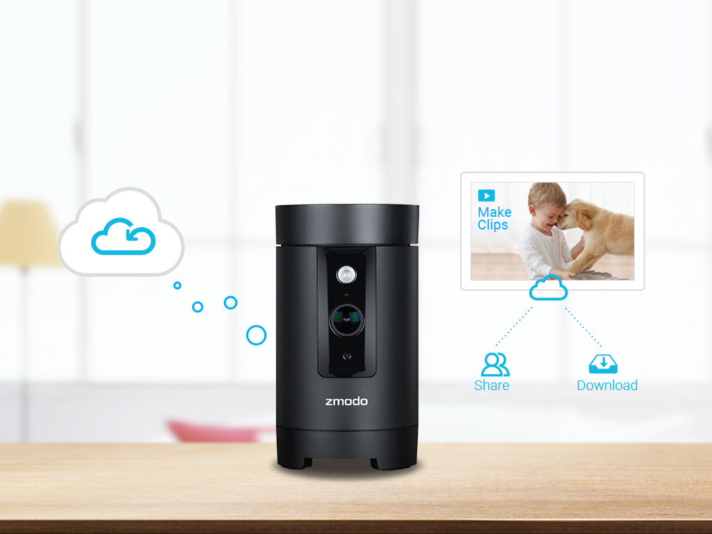 Zmodo Pivot 1080p Hd Rotating Wireless Indoor Camera