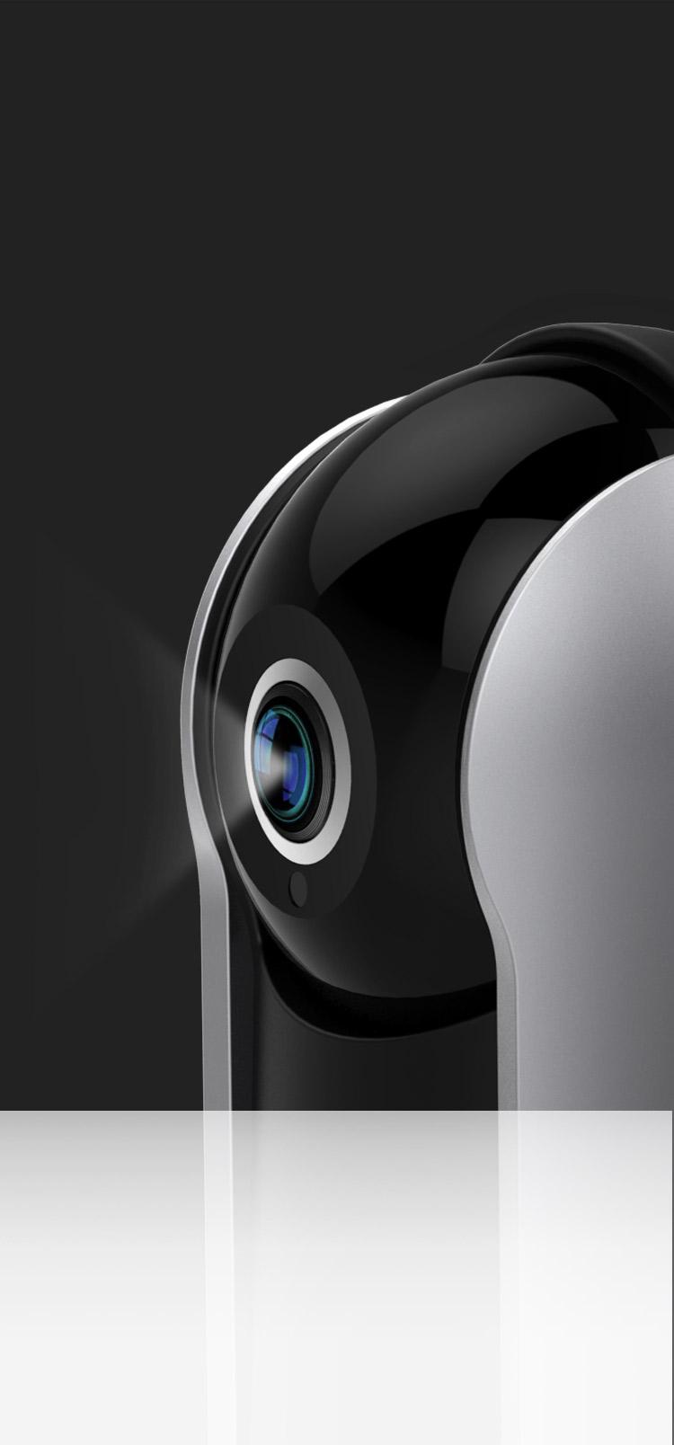 Zmodo Snap PT - 360° Pan & Tilt Wireless Indoor Security
